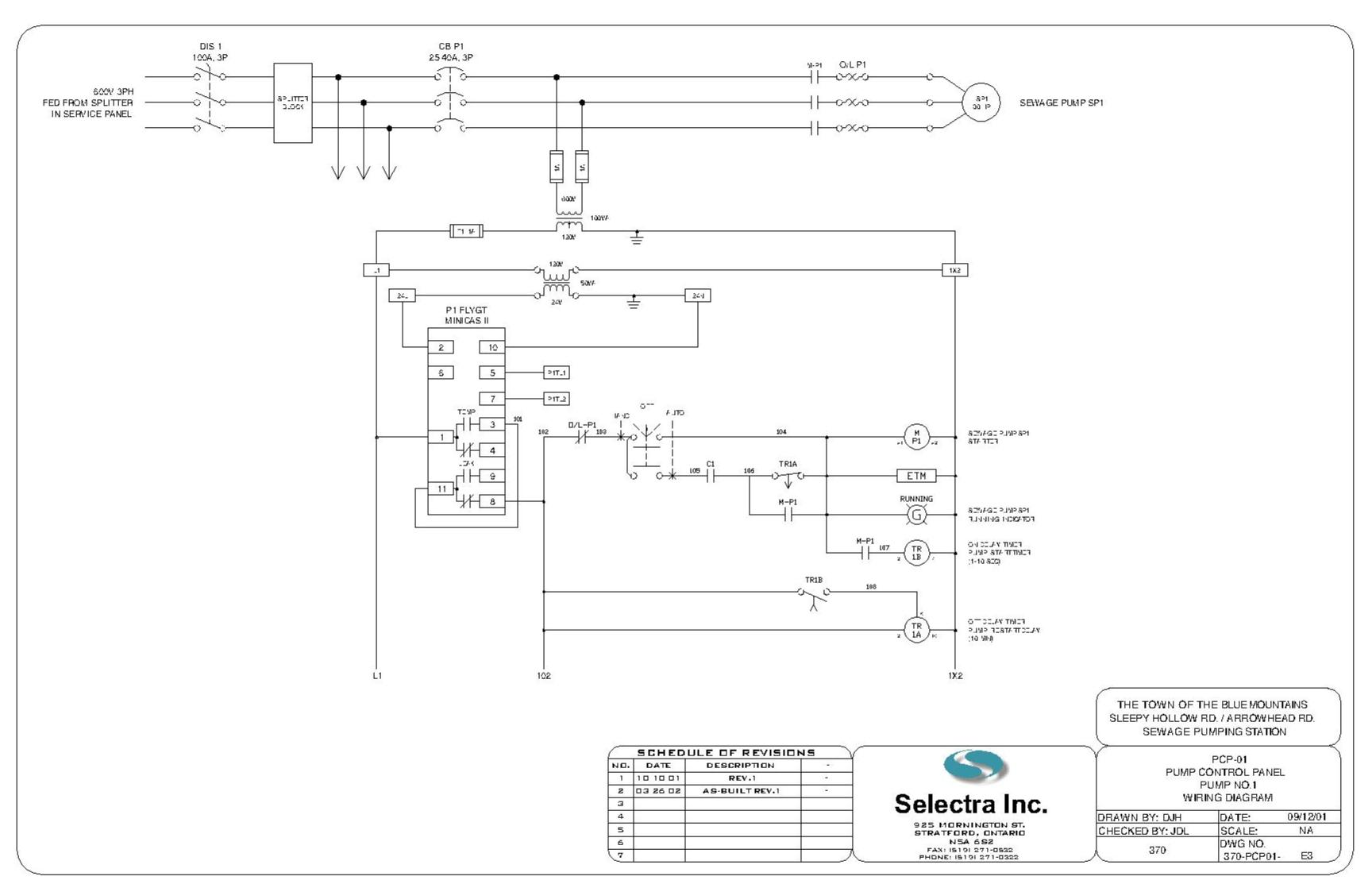 Electrical Control Panel Wiring Diagram: 1 PHASE STARTER PANEL,Design